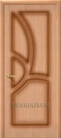 Межкомнатная шпонированная дверь Греция ПГ дуб файн-лайн