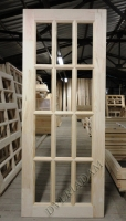 Деревянная дверь из массива сосны АРБАТ  ПДО