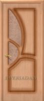 Межкомнатная шпонированная дверь Греция ПО дуб файн-лайн