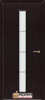 Межкомнатная ламинированная дверь Молдинг Венге