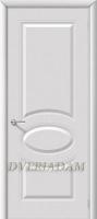 Межкомнатная эмалированная дверь Джили ПГ Белый