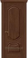 Межкомнатная шпонированная дверь Париж ПГ Виски