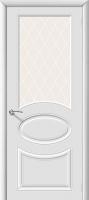 Межкомнатная эмалированная дверь Джили ПО Белый