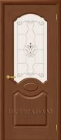 Межкомнатная шпонированная дверь Селена ПО орех