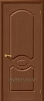 Межкомнатная шпонированная дверь Селена ПГ орех