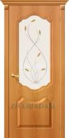 Межкомнатная дверь с ПВХ-пленкой Перфекта ПО миланский орех