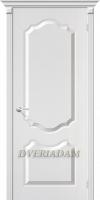 Межкомнатная дверь с ПВХ-пленкой Перфекта ПГ белая