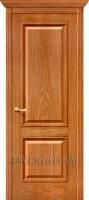 Межкомнатная шпонированная дверь Шервуд ПГ золотой дуб