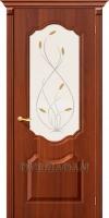 Межкомнатная дверь с ПВХ-пленкой Перфекта ПО итальянский орех
