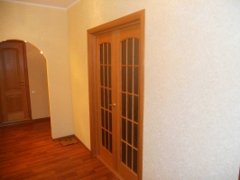 Межкомнатная шпонировананя дверь Капри-4  ПО дуб