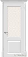 Межкомнатная окрашенная дверь Блюз по белый