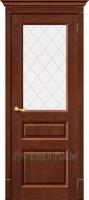 Межкомнатная дверь из Массива Леонард ПО Орех