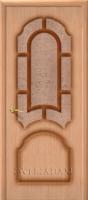Межкомнатная шпонированная дверь Соната ПО дуб файн-лайн