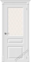 Межкомнатная окрашенная дверь Скинни-15.1 Whitey
