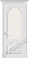 Межкомнатная окрашенная дверь Скинни-33 Whitey