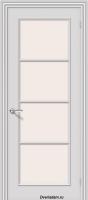 Межкомнатная окрашенная дверь Ритм по Белый