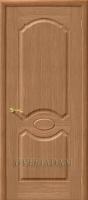 Межкомнатная шпонированная дверь Селена ПГ дуб