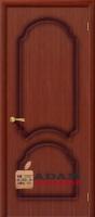 Межкомнатная шпонированная дверь Соната ПГ макоре файн-лайн