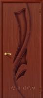 Межкомнатная шпонированная дверь Эксклюзив ПГ макоре файн-лайн