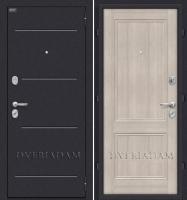 Стальная дверь Оптим Класс Cappuccino Veralinga