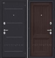 Стальная дверь Оптим Класс Wenge Veralinga