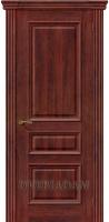 Межкомнатная шпонированная дверь Вена ПГ Красное дерево