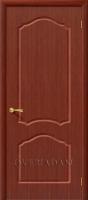 Межкомнатная шпонированная дверь Каролина ПГ макоре файн-лайн