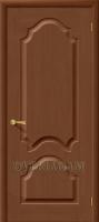Межкомнатная шпонированная дверь Афина ПГ орех