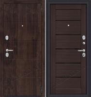 Стальная дверь Оптим Прайм Wenge Veralinga/Black Star