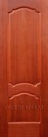 Межкомнатная шпонированная дверь Флоренция ПГ Красное дерево