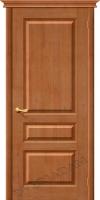 Межкомнатная дверь из Массива Марио ПГ светлый лак