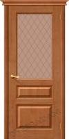 Межкомнатная дверь из Массива Марио ПО светлый лак