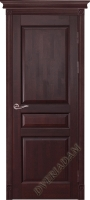 Дверь  Валенсия Адам из массива Махагон ПГ
