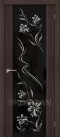 Межкомнатная дверь с Эко шпоном S-13 Print Wenge Veralinga
