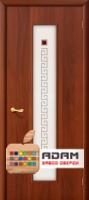 Межкомнатная ламинированная дверь Тиффани-1 итальянский орех (21 Х)