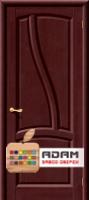 Межкомнатная дверь из массива сосны Рафаэль ПГ махагон