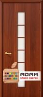 Межкомнатная ламинированная дверь 4С2 итальянский орех (2 С)