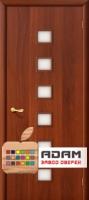 Межкомнатная ламинированная дверь 4С1 итальянский орех (1 С)
