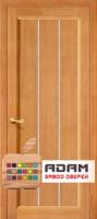 Межкомнатная дверь из Массива СОСНЫ Вега 19 ПГ светлый орех