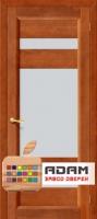 Межкомнатная дверь из Массива СОСНЫ Вега 2 ПО темный орех