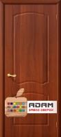 Межкомнатная дверь с ПВХ-пленкой Альфа ПГ, итальянский орех