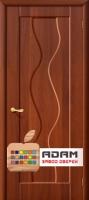 Межкомнатная дверь с ПВХ-пленкой Вираж ПГ, итальянский орех