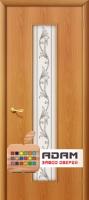 Межкомнатная ламинированная дверь Тиффани-4 миланский орех (24 Х)