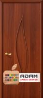 Межкомнатная ламинированная дверь Стеффани ПГ итальянский орех (12 Г)
