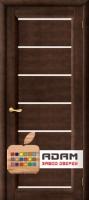 Межкомнатная дверь из Массива ОЛЬХИ Брайтон ПГ венге