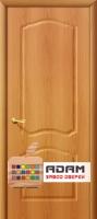 Межкомнатная дверь с ПВХ-пленкой Лидия ПГ, миланский орех