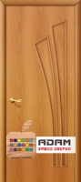 Межкомнатная ламинированная дверь 4Г4 миланский орех (4 Г)