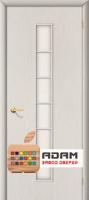 Межкомнатная ламинированная дверь 4С2 беленый дуб (2 С)