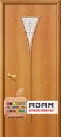 Межкомнатная ламинированная дверь 4С3х миланский орех (3 Х)