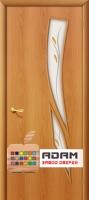 Межкомнатная ламинированная дверь 4С8ф миланский орех (8 Ф)